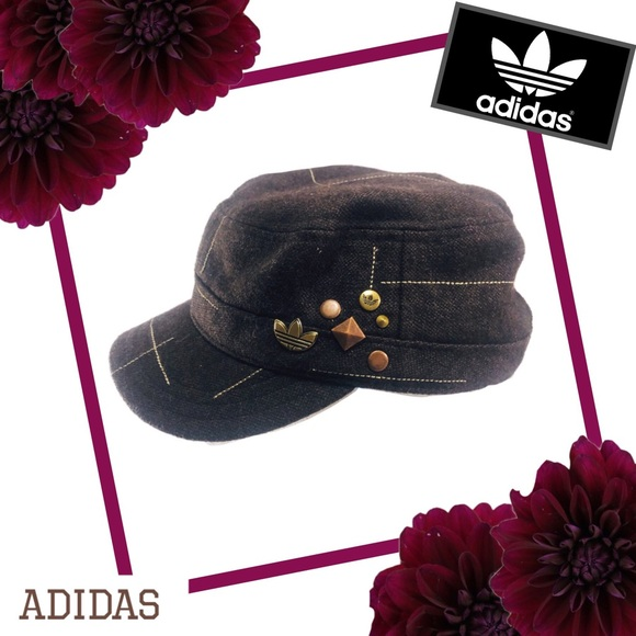 adidas Accessories - ADIDAS Wool Blend Embellished Hat
